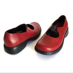 Dansko 38 Leather Mary Jane Shoes Size 7.5/8 US